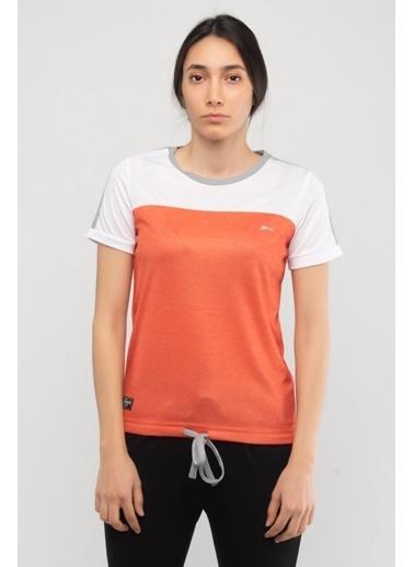 Slazenger Slazenger RUDY Kadın T-Shirt Turuncu Oranj